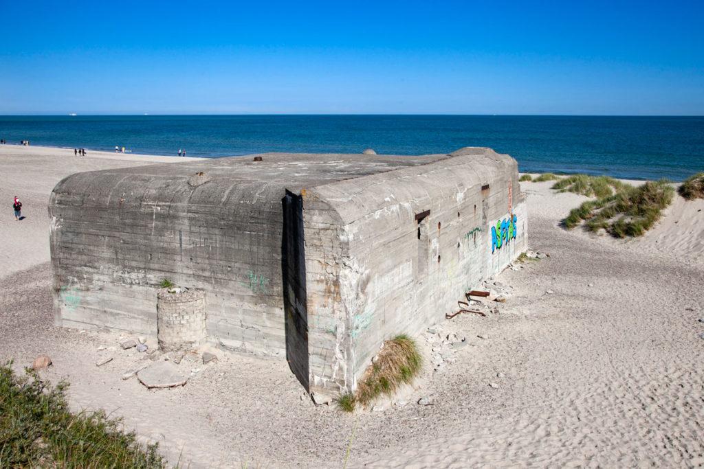 Bunker tedeschi seconda guerra mondiale - Spiaggia di Grenen