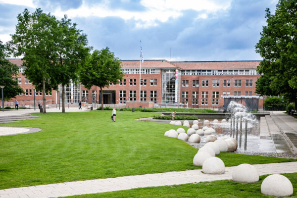 ByParken e il nuovo municipio di Vejle