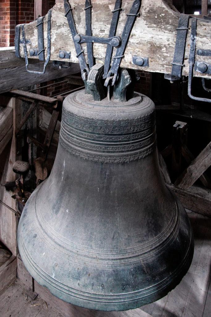 Campana nella torre della Cattedrale di Ribe