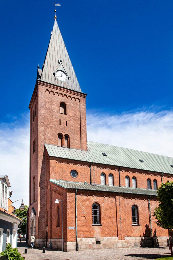 Campanile e facciata esterna Vor Frue Kirke