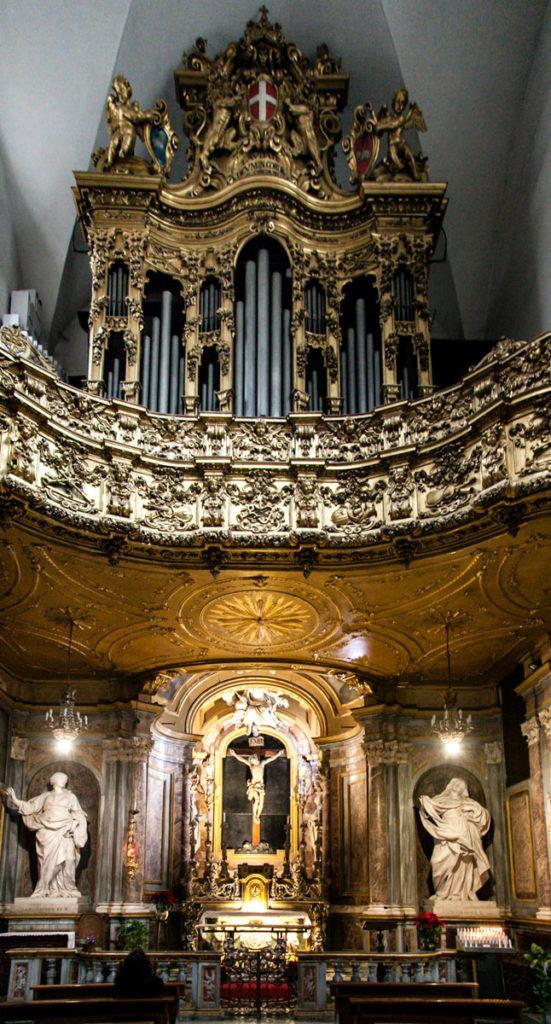 Cappella Opposta a quella della Sacra Sindone nel duomo di Torino - Organo