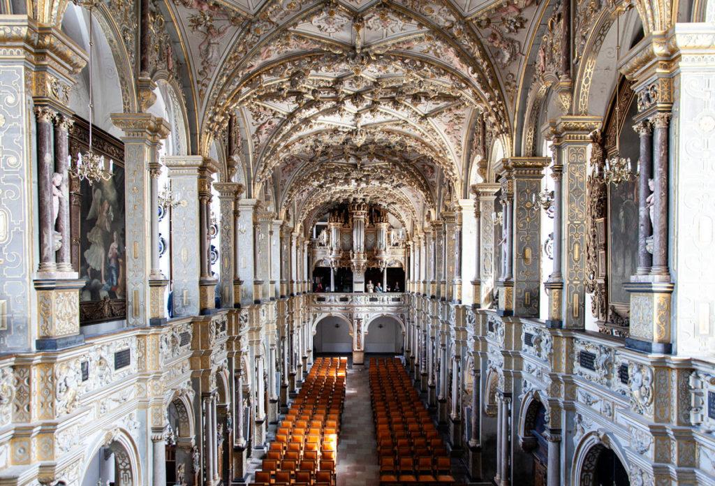Cappella del Frederiksborg riccamente decorata