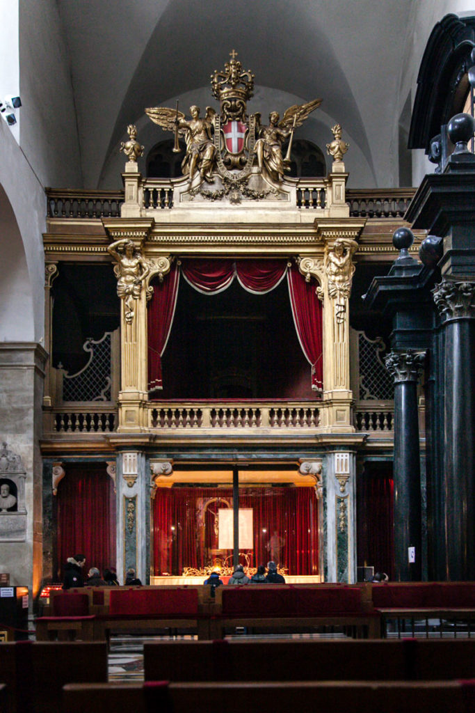 Cappella della Sacra Sindone nel duomo di Torino