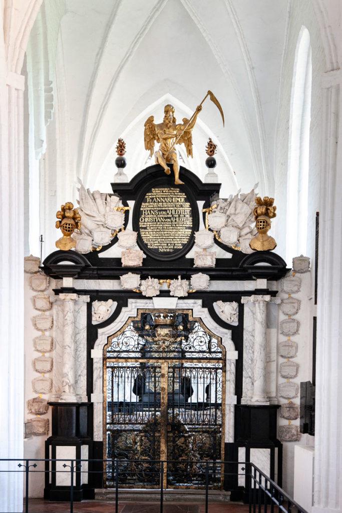 Cappella dentro al duomo di Odense