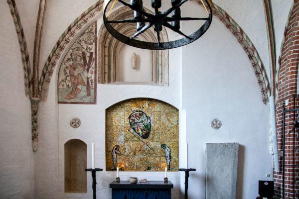 Cappella di Sant'Andrea - Mosaico con 56000 tessere