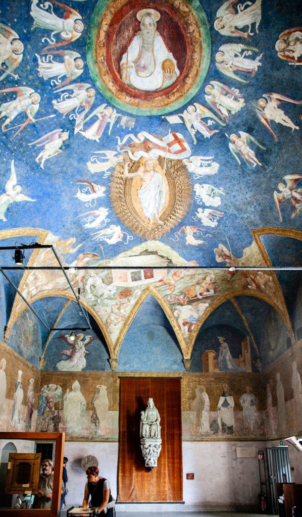 Cappella ducale del castello sforzesco