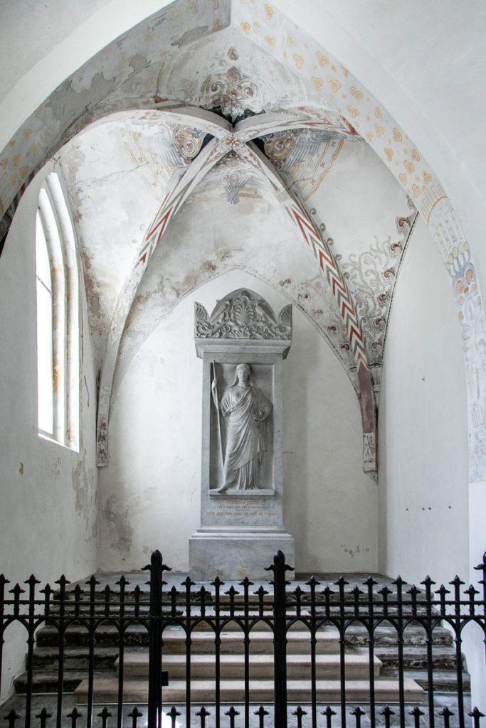 Cappella interna alla chiesa di Stege