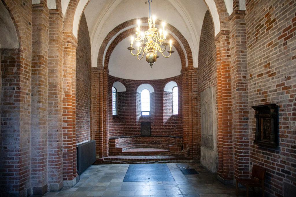 Cappella romanica del XII secolo - Duomo di Aarhus