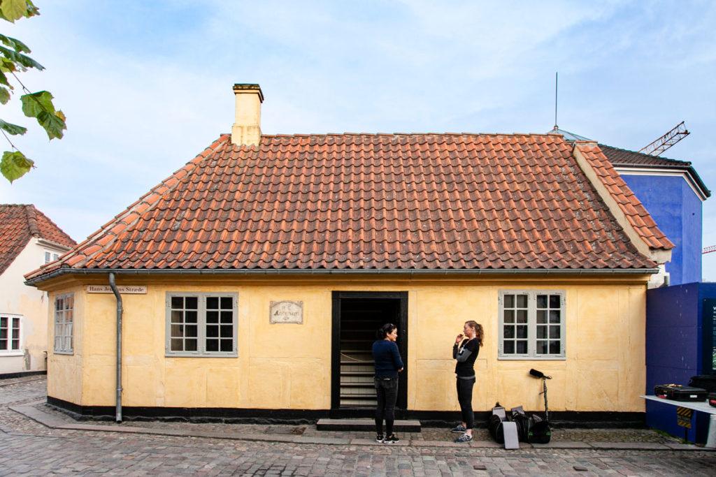 Casa Natale di Andersen al tramonto - Cosa Vedere ad Odense