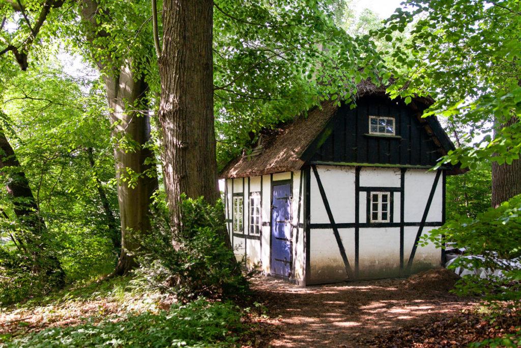 Casetta tipica danese - Attrezzaia del parco artistico
