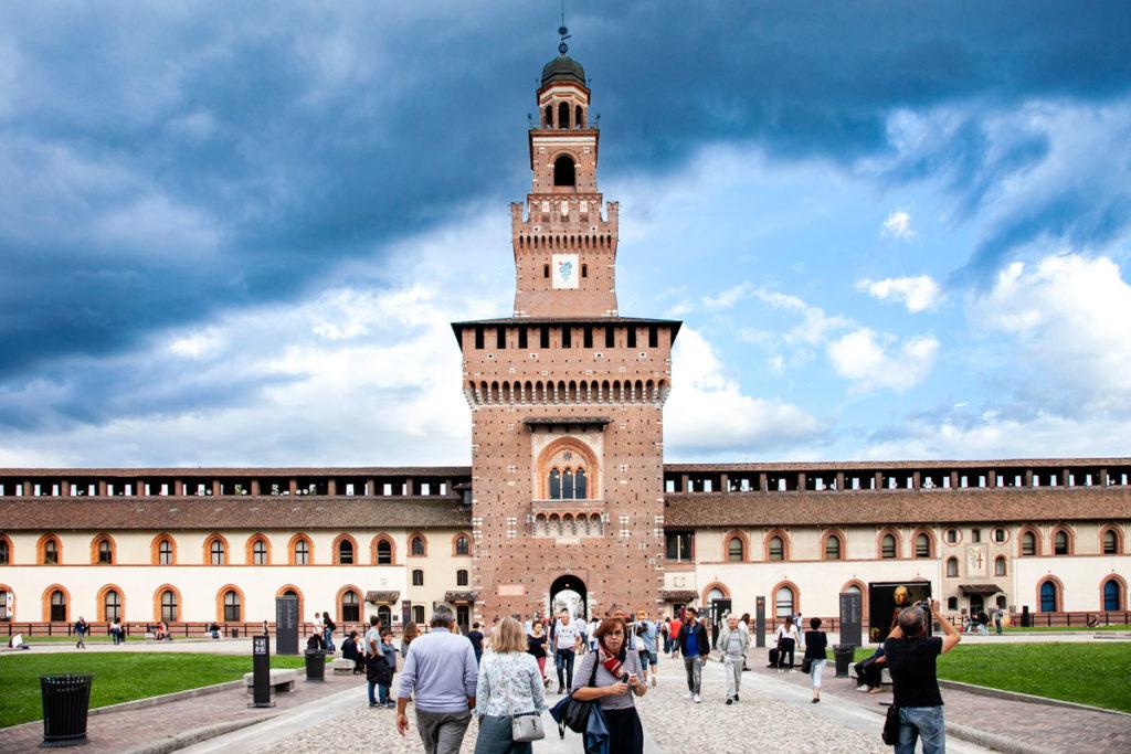 Castello Sforzesco di Milano - Torre del Filarete