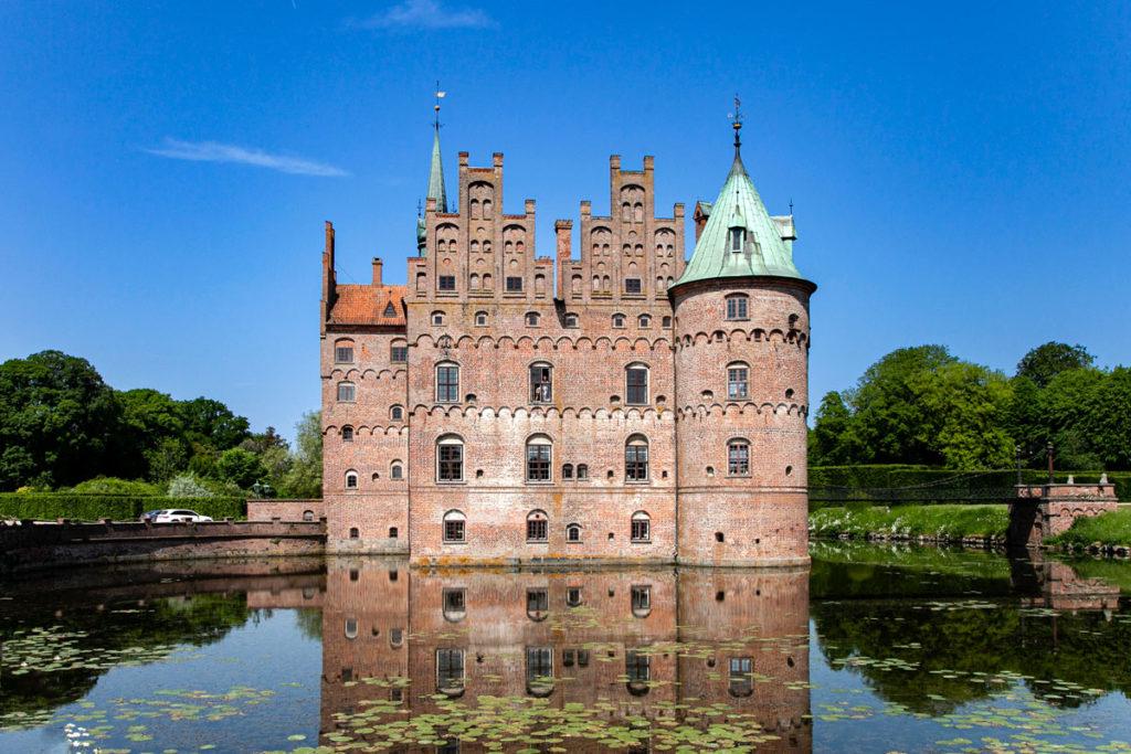 Castello di Egeskov - Castello in mezzo al lago sull isola di Fyn - Danimarca