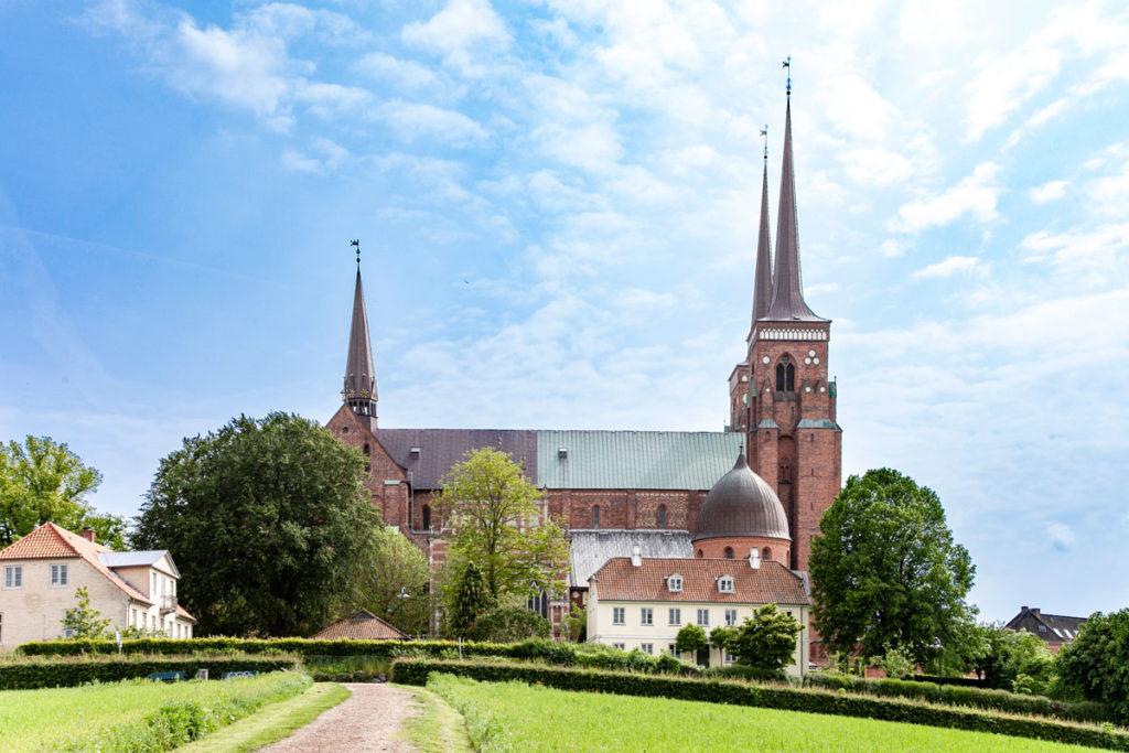 Cattedrale di Roskilde - Veduta Laterale