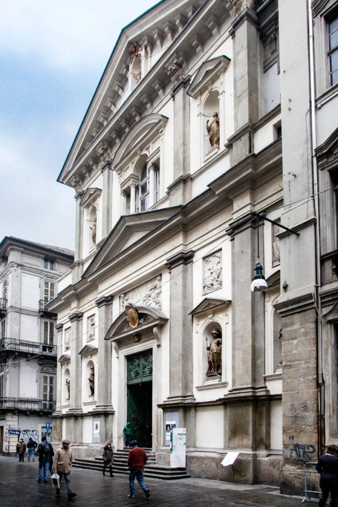 Chiesa dei Santi Martiri di Torino - Facciata