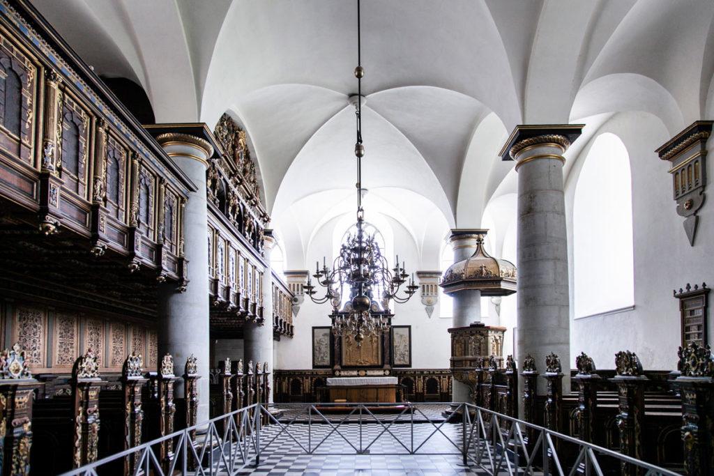Chiesa del XVI secolo nel castello di Amleto