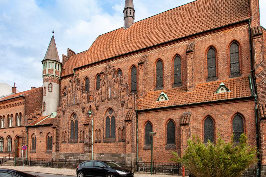 Chiesa di St Alban - Chiesa Cattolica di Odense