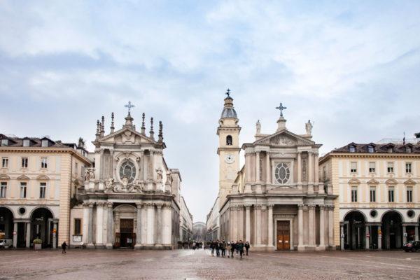 Chiese Gemelle di San Carlo Borromeo e Santa Cristina - Torino