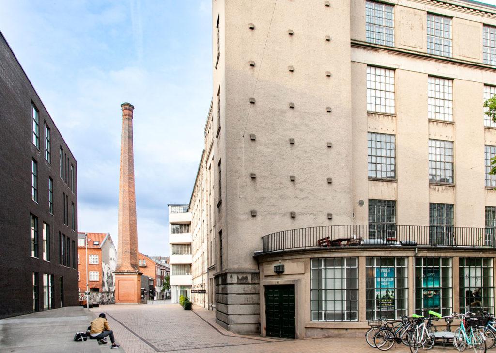 Ciminiera dello stabilimento tessile Brandts - Odense