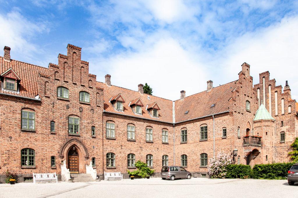Convento di Roskilde con edifici del XIII secolo