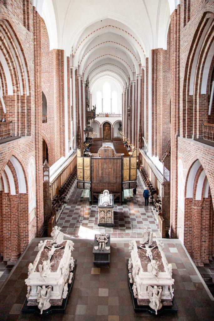 Coro Superiore visto dall'Alto - Cattedrale di Roskilde