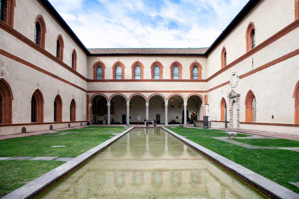 Corte Ducale del Castello Sforzesco di Milano