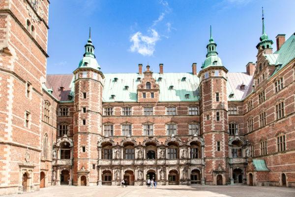 Cortile interno del Frederiksborg Slot