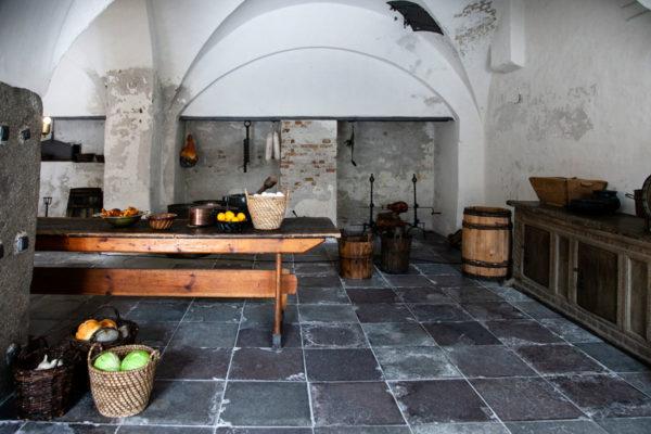Cucine del Castello di Amleto