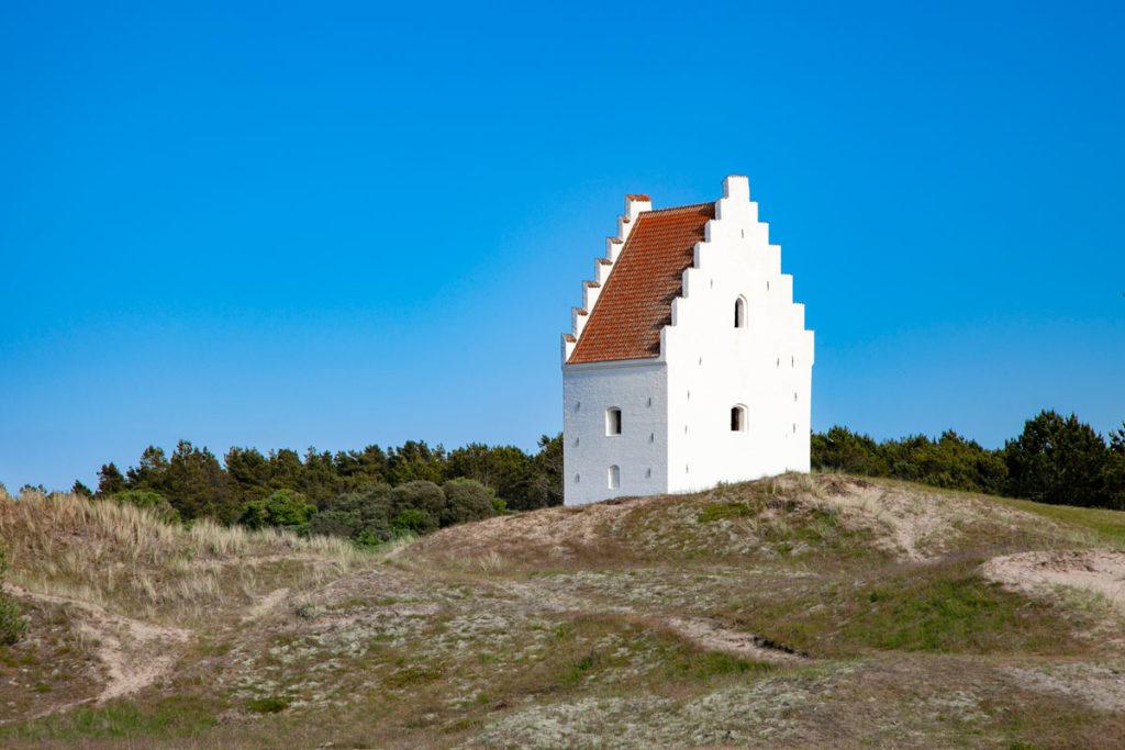 Den Tilsandede Kirke - Chiesa sommersa dalal Sabbia a Skagen