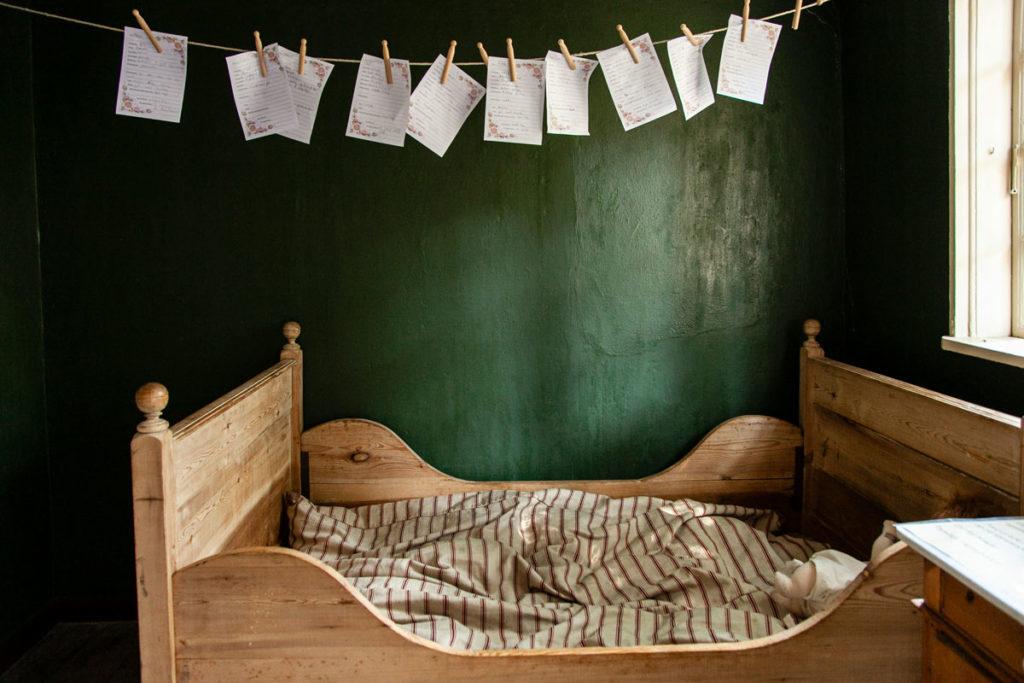 Dentro una antica casa Danese - Camera da Letto