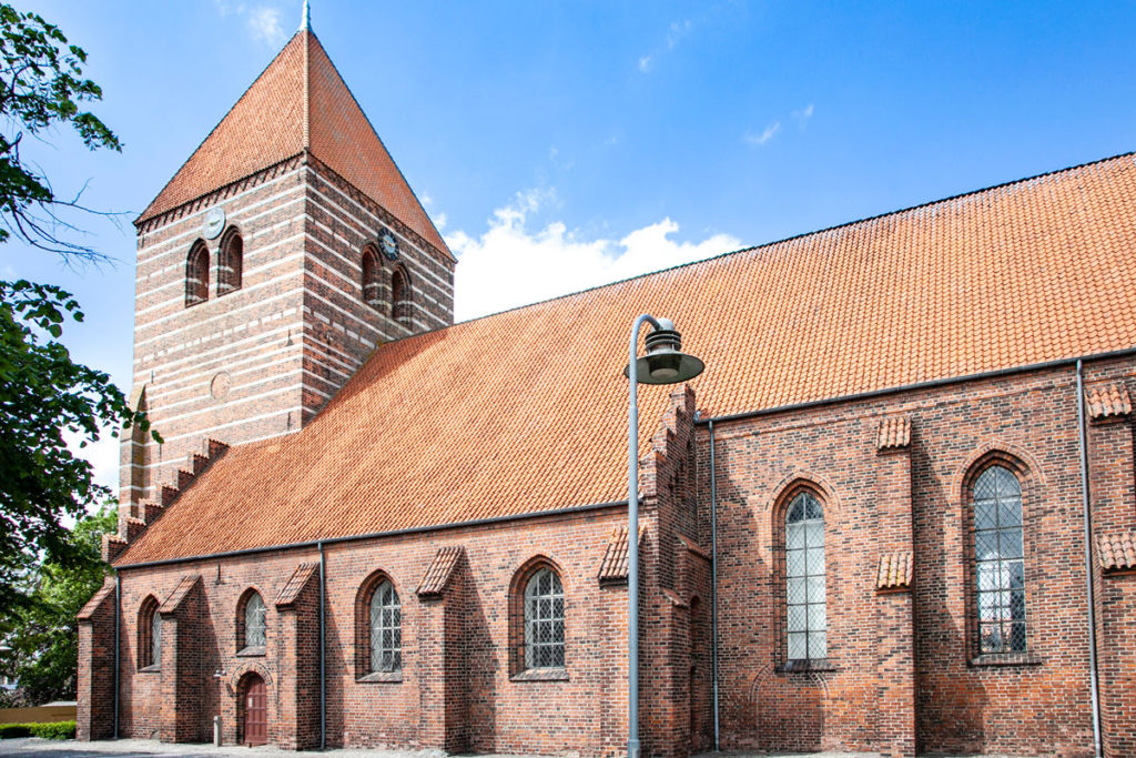 Esterni della Stege Kirke - XIII secolo