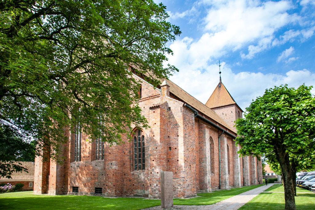 Esterni della chiesa di Santa Caterina - Chiesa più antica di Ribe