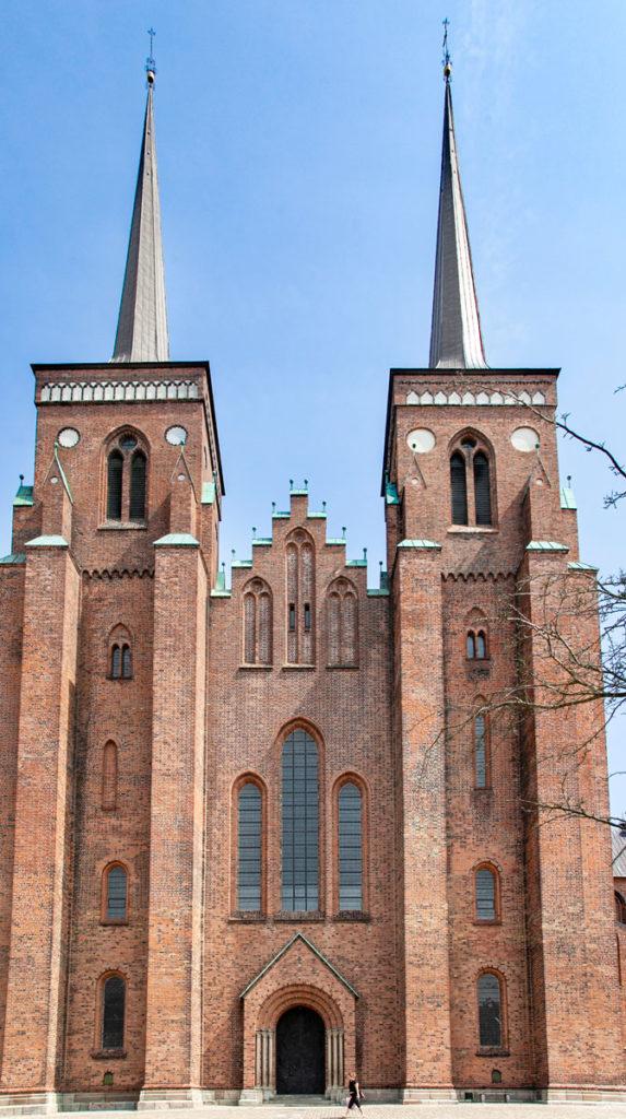 Faacciata Cattedrale Roskilde - Cosa Vedere in Danimarca