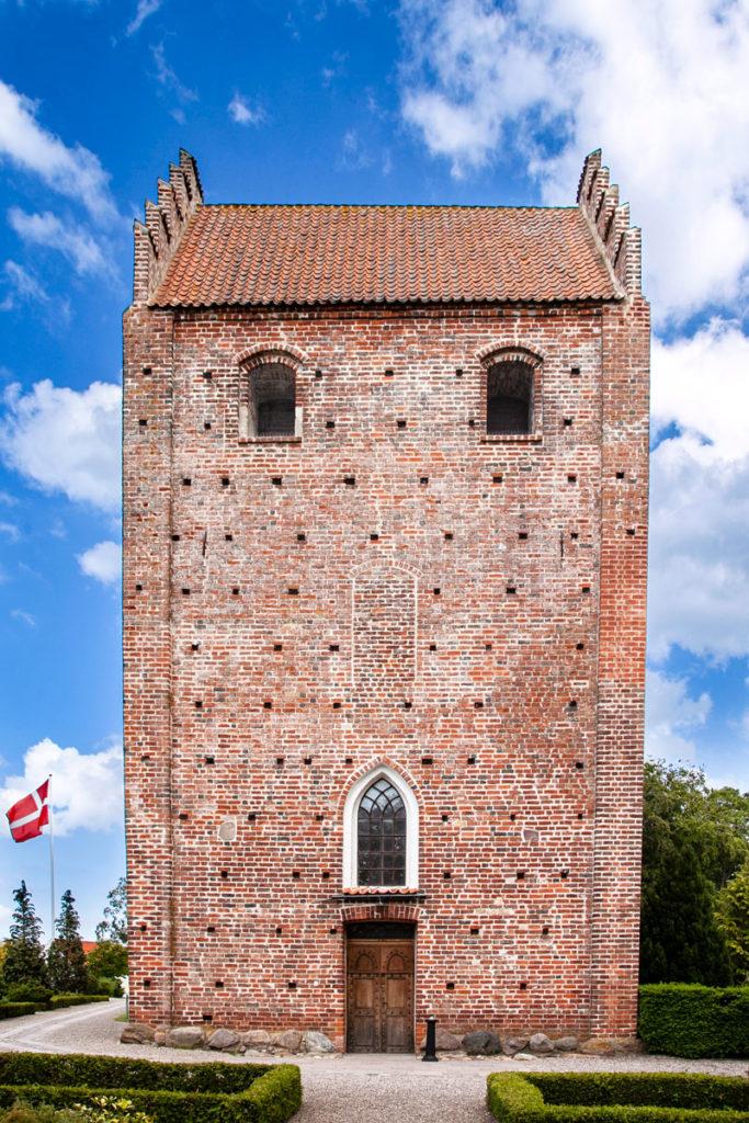 Facciata chiesa di Keldby - Ingresso