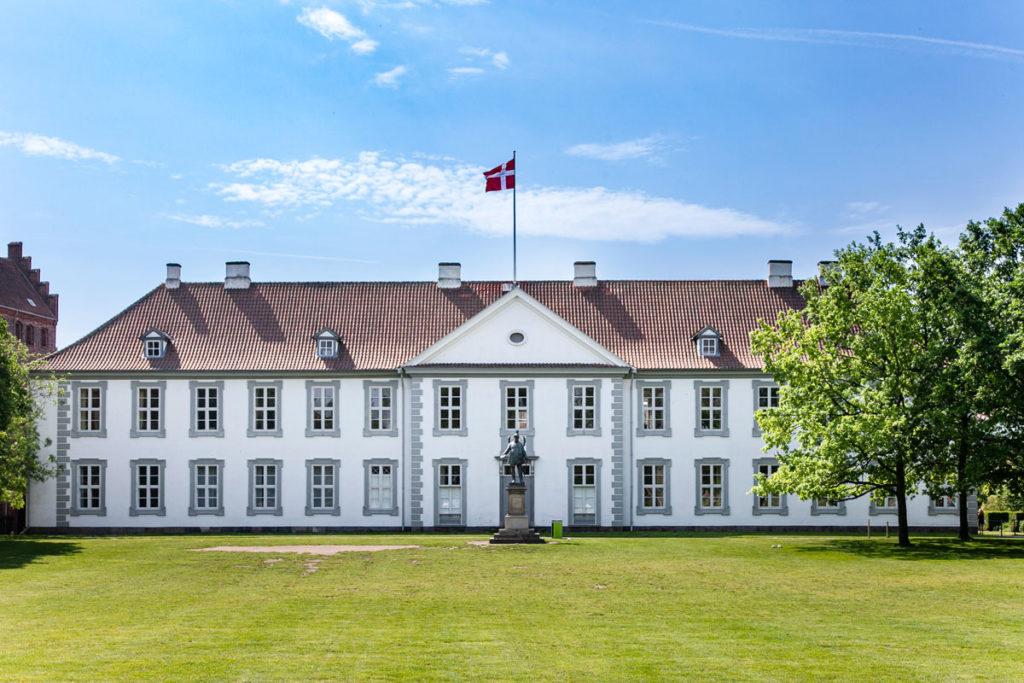 Facciata del Castello di Odense