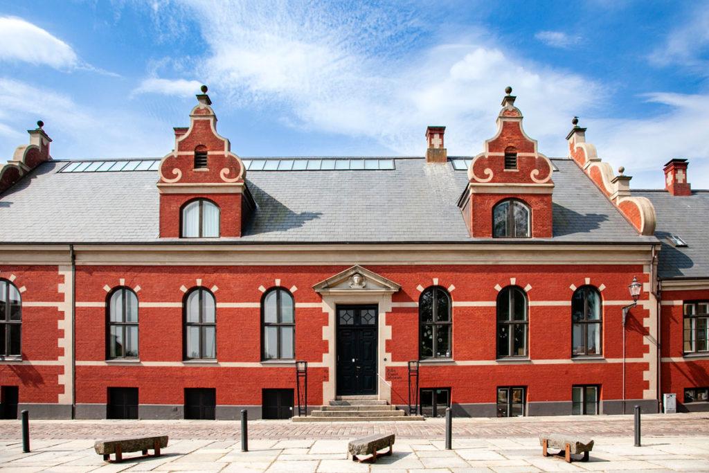 Facciata del Ribe Kunstmuseeum - Museo di Arte