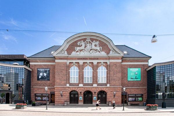 Facciata del Teatro di Odense