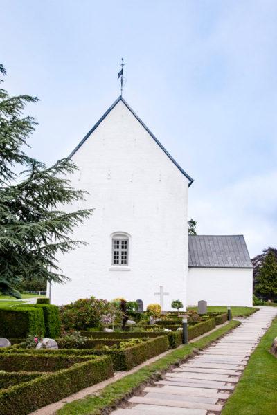 Facciata della chiesa di Jelling