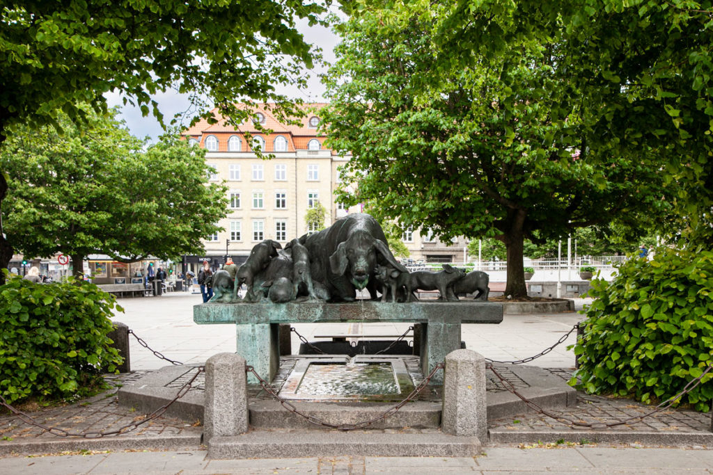 Fontana del Maiale in Radhuspladsen