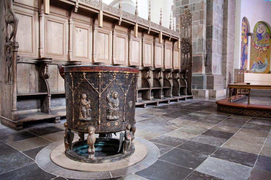 Fonte Battesimale del XIV secolo - Cattedrale di Ribe
