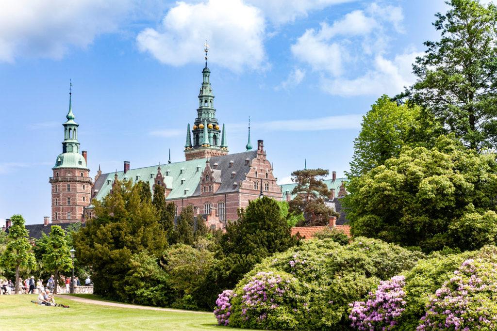 Frederiksborg Slot Immerso nel verde