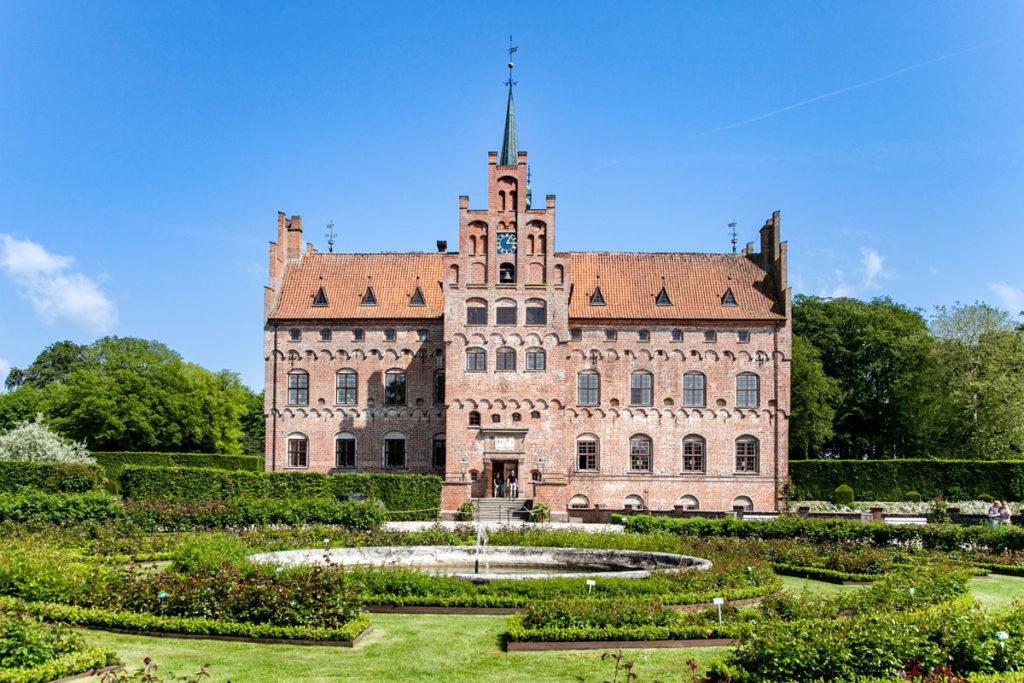 Giardino delle Rose nel Castello di Egeskov