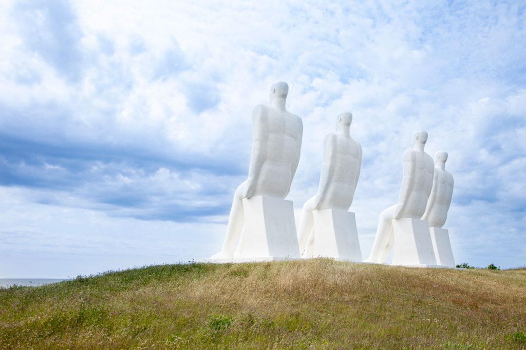 Gli uomini che guardano il mare - Statue giganti Esbjerg