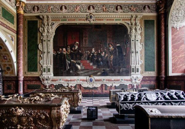 Grandi dipinti nella Cappella di Cristiano IV - 1620