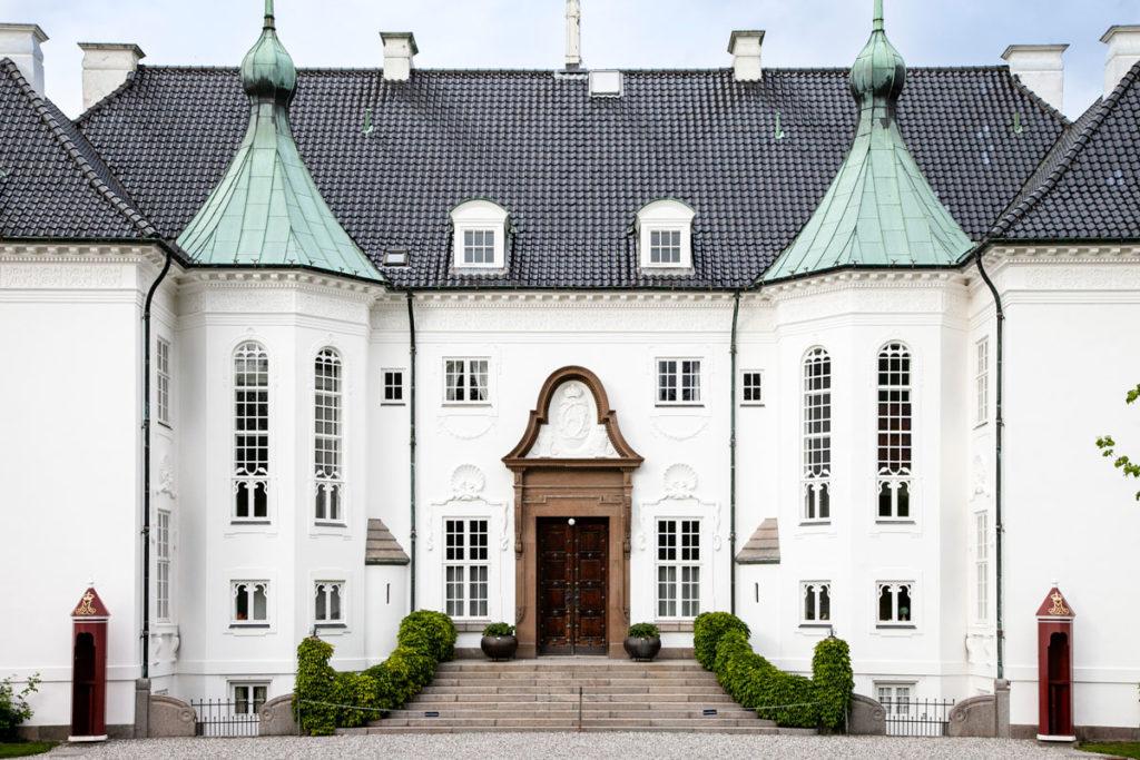 Ingresso a Marselisborg Slot - Palazzo reale di Aarhus