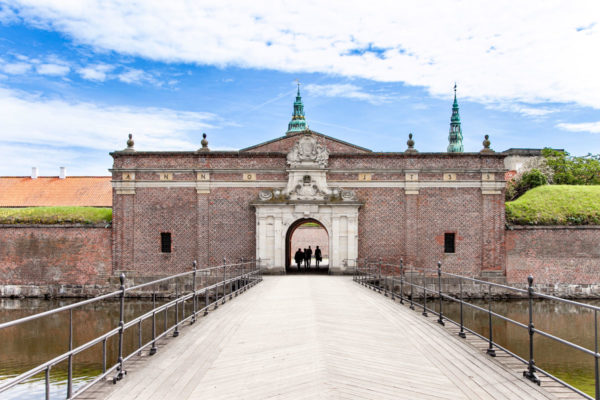 Ingresso al Castello di Amleto - Danimarca