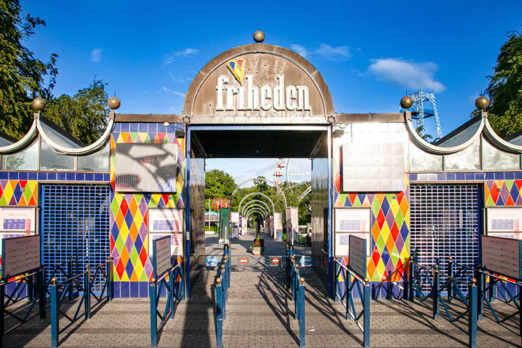 Ingresso al Tivoli Friheden - Lunapark di Aarhus