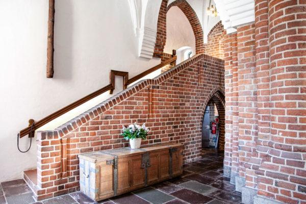 Ingresso alla Casa del Capitolo - Scala della Regina - Cattedrale di Roskilde
