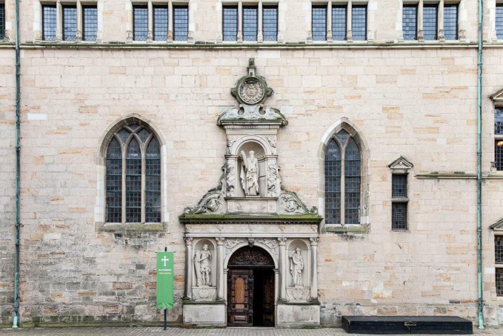 Ingresso alla chiesa del castello di Kronborg Slot