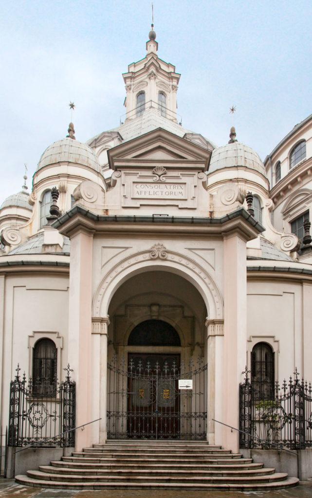 Ingresso laterale Santuario della Consolata - Torino