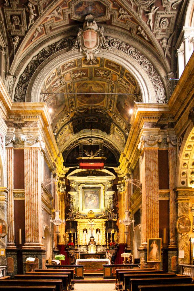 Interni della Chiesa di Santa Cristina a Torino